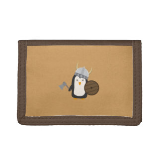 Penguin Viking Trifold Wallets