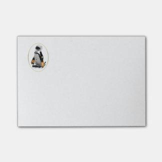 Penguin Wearing Hockey Gear Post-it® Notes