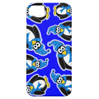 Penguin Winter Design iPhone 5 Covers