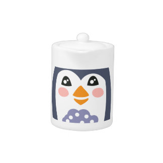 Penguin With Party Attributes Girly Stylized Funky