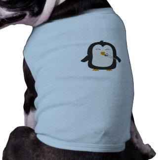 Penguin with sushi pet shirt