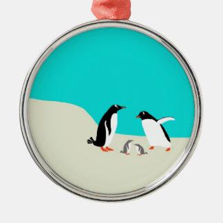 Penguine Family Ornament
