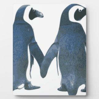 Penguine Plaque