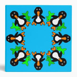 "Penguins 2 "" 3-Ring Binder"