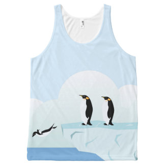 Penguins All-Over-Print Tank Top