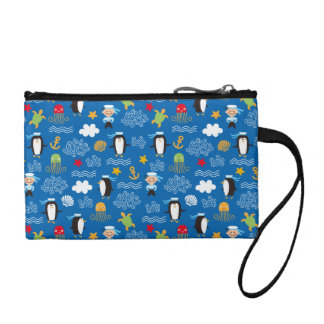Penguins and Sailors Coin Purse