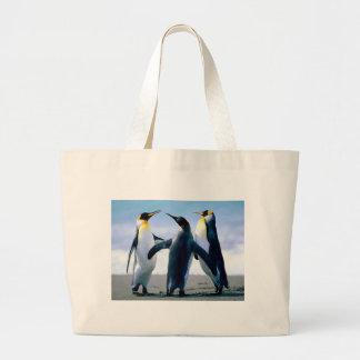 Penguins Canvas Bag