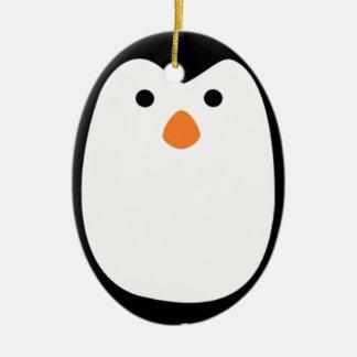 Penguins Ceramic Ornament