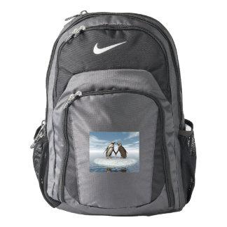 Penguins couple backpack
