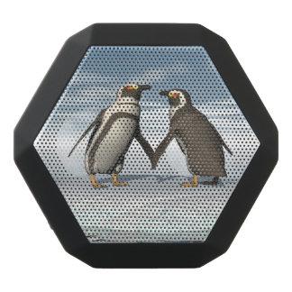 Penguins couple black bluetooth speaker