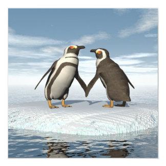 Penguins couple card