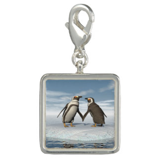 Penguins couple charm