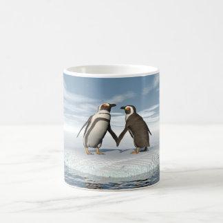 Penguins couple coffee mug