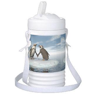 Penguins couple cooler