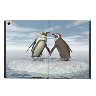 Penguins couple cover for iPad air