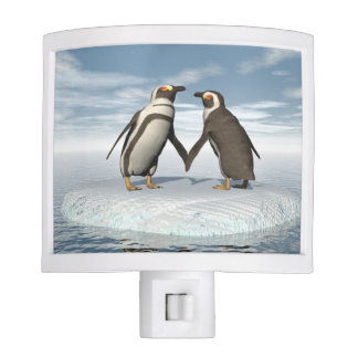 Penguins couple nite lights