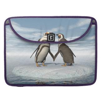 Penguins couple sleeve for MacBooks