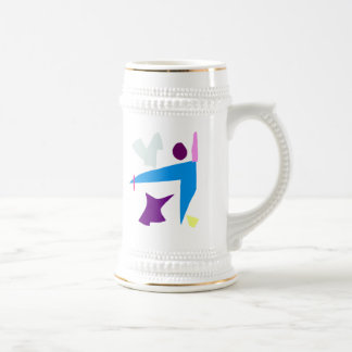 Penguins Do Not Think Like You Do 18 Oz Beer Stein