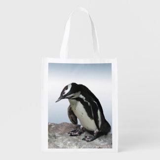 Penguins Grocery Bag