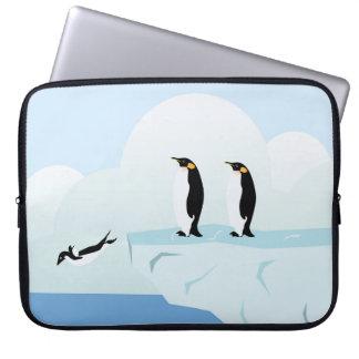 Penguins Laptop Sleeve