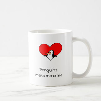 Penguins Make Me Smile Mug