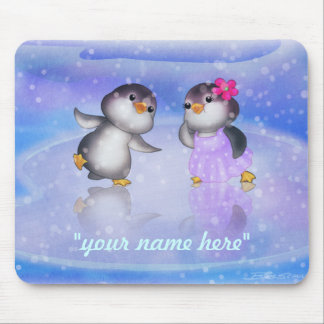 Penguins ! mouse pad