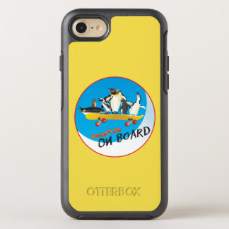 Penguins On Board OtterBox Symmetry iPhone 7 Case