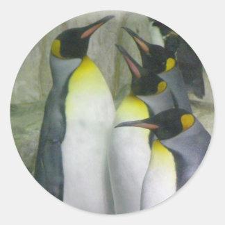 penguins, stickers