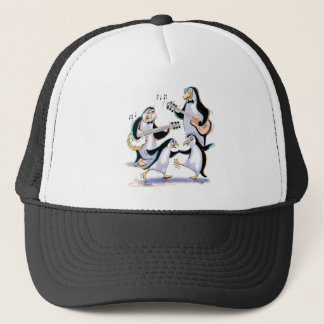 PeNgUiNs SwiNg Trucker Hat