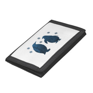 Penguins Tri-fold Wallets