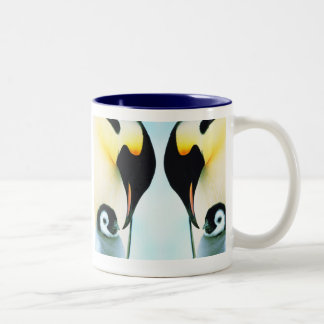 PENGUINS Two-Tone COFFEE MUG