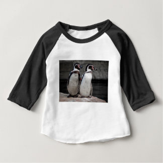 Penguins Watching Baby T-Shirt