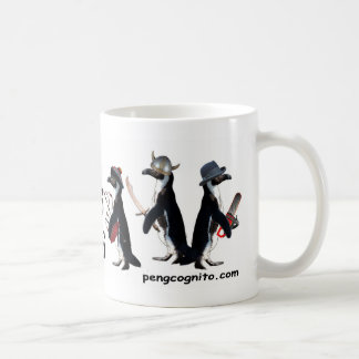 Penguins With Weapons Mug