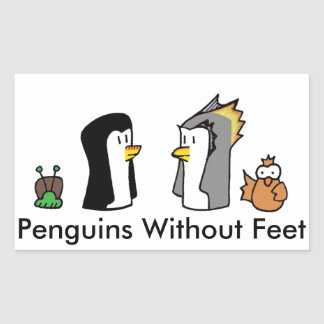 Penguins Without Feet Sticker
