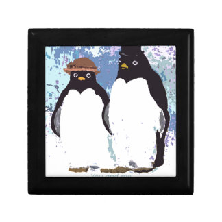 Penguins You and Me Standing the Test of Time Gift Box