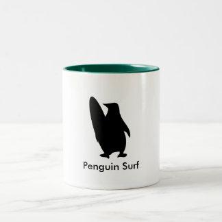 penguintastic surf mug