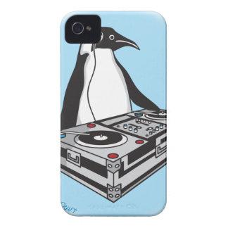 penguinX3[1] iPhone 4 Case