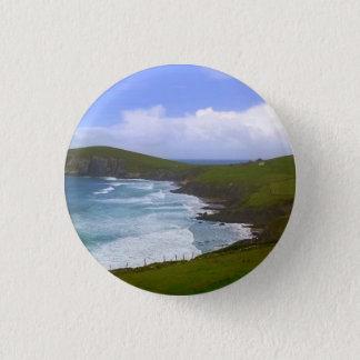 Peninsula Dingle Ireland 1 Inch Round Button