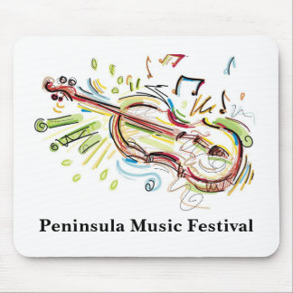 Peninsula Music Festival Mouse Pad