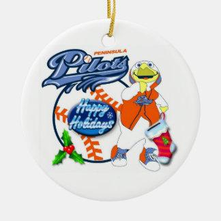 Peninsula Pilots Christmas Ornament