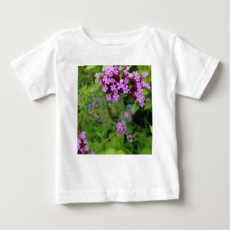 Penland Purple Flower: Sallie by My Side Baby T-Shirt
