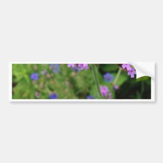 Penland Purple Flower: Sallie by My Side Bumper Sticker