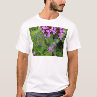 Penland Purple Flower: Sallie by My Side T-Shirt