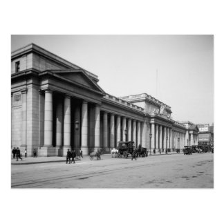 Penn Station East Facade, 1910 Postcard