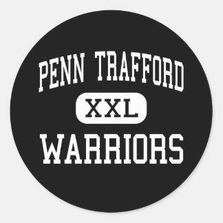 Penn Trafford - Warriors - High - Harrison City Classic Round Sticker
