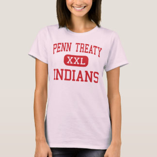 Penn Treaty - Indians - Middle - Philadelphia T-Shirt
