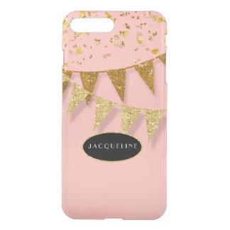 Pennant Banner Confetti Glitter Glitz Sparkle Name iPhone 7 Plus Case