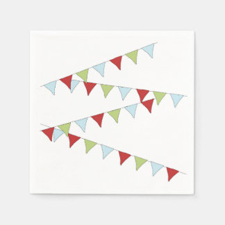 Pennant Banner Disposable Napkins