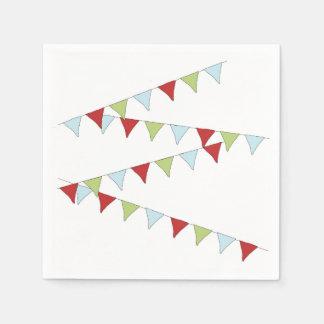 Pennant Banner Paper Napkin