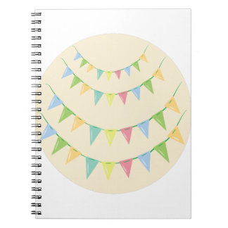 Pennant Decoration Note Book